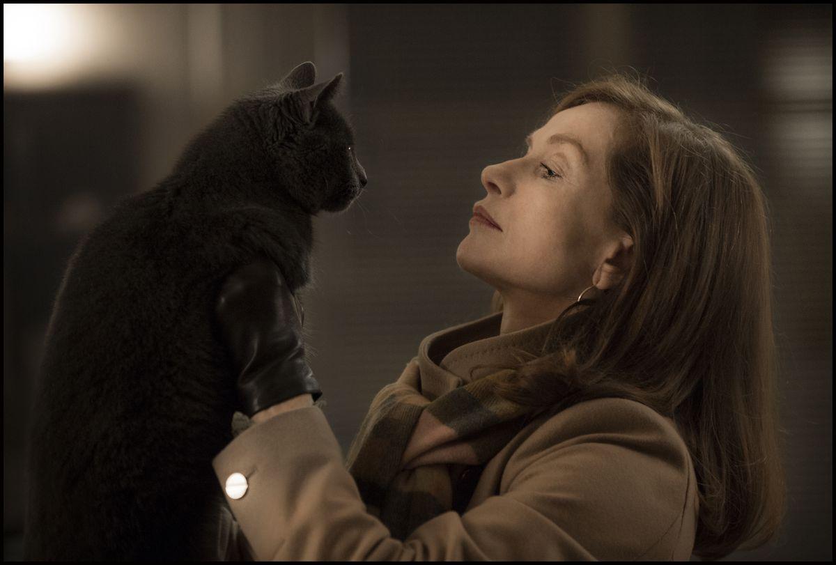 Isabelle Huppert as Michele in Paul Verhoeven's Elle.