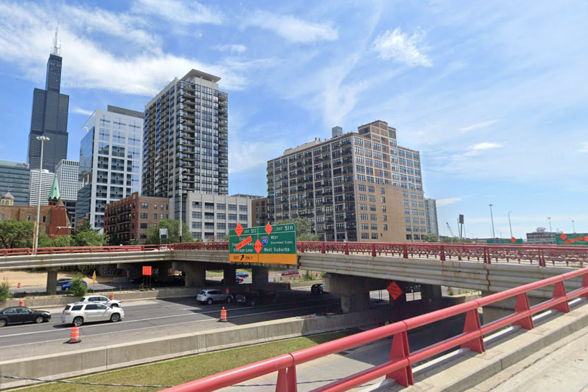 The Adams Street bridge is scheduled to close for construction Aug. 31, 2020.