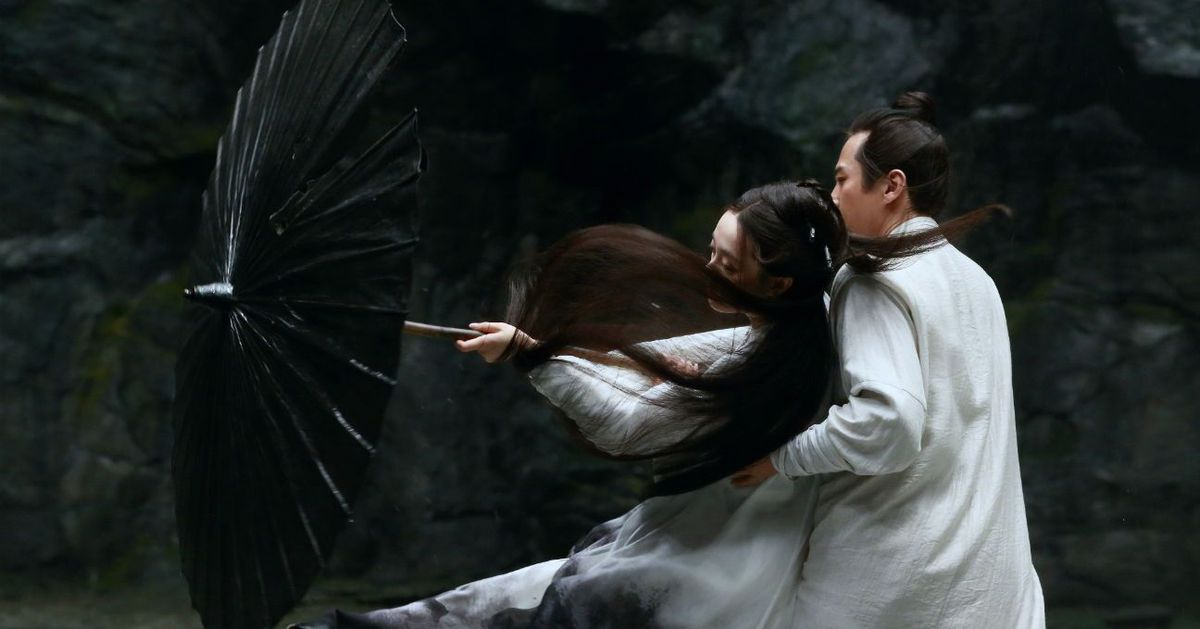 Zhang Yimou's action-fantasy Shadow sets gorgeous action in a grey world - The Verge