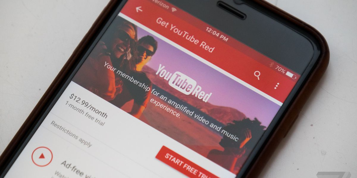YouTube with ads after YouTube Red is hell - The Verge