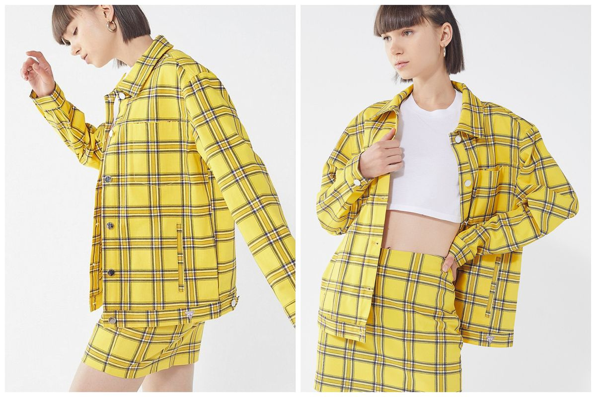 23a773404 Urban Outfitters. I think they want me to wear matching sets made of yellow  plaid.