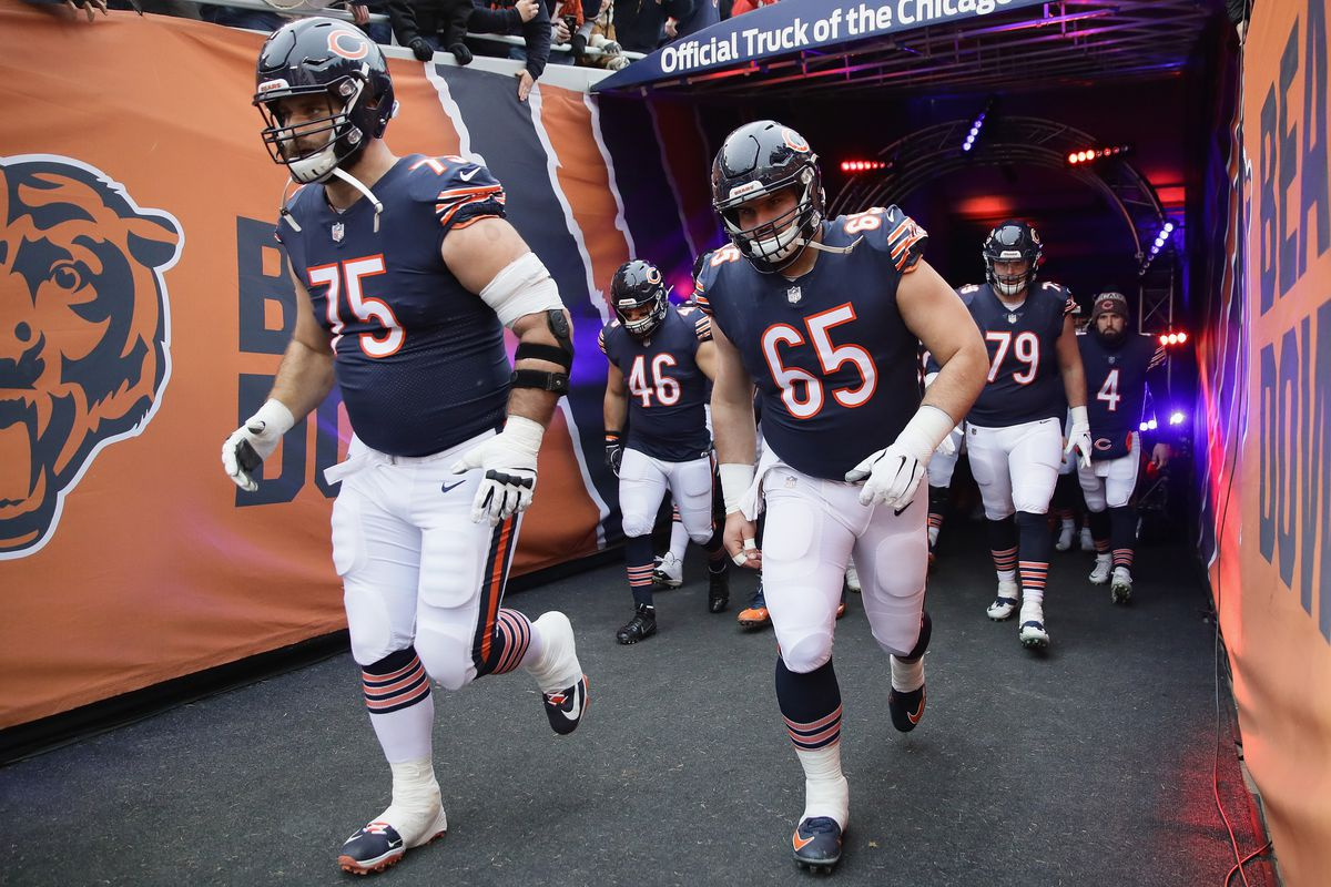 quality design da875 9aa4c Wednesday night fight: Kyle Long ejected from Bears ...