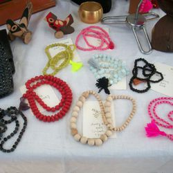 Bright, beaded accessories from KKIBO