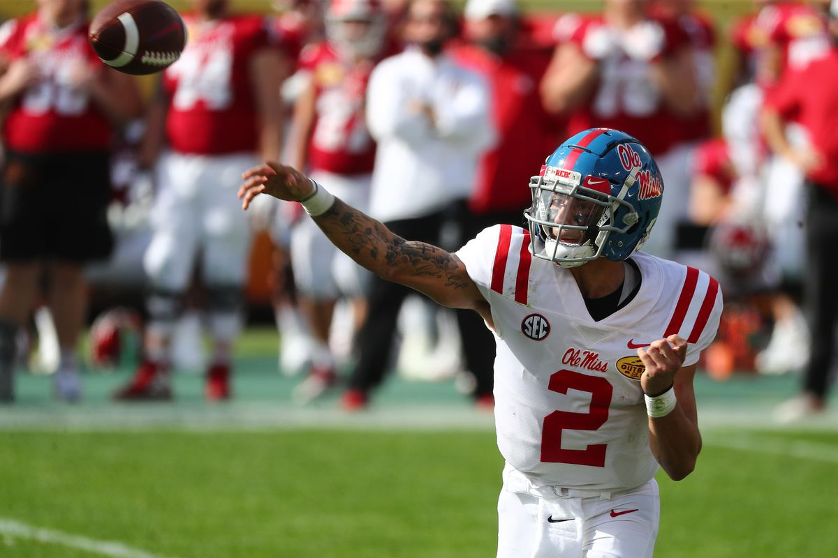 NCAA Football: Outback Bowl-Mississippi vs Indiana