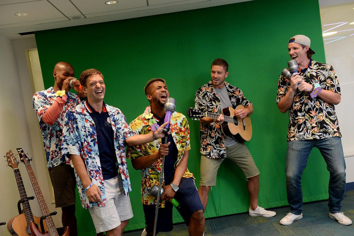 New England Revolution Players Bring Summer Smiles to Patients and Families at Boston Children's Hospital