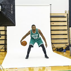Marcus Smart showing the handles
