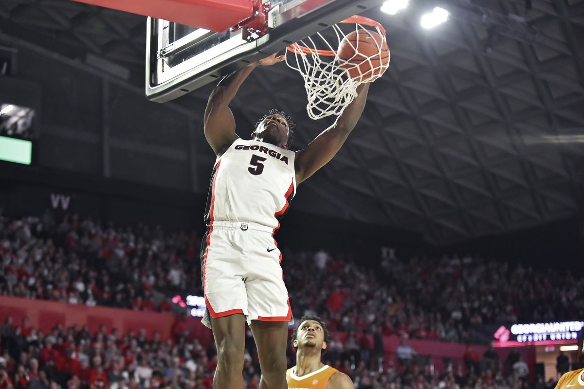 COLLEGE BASKETBALL: JAN 15 Tennessee at Georgia