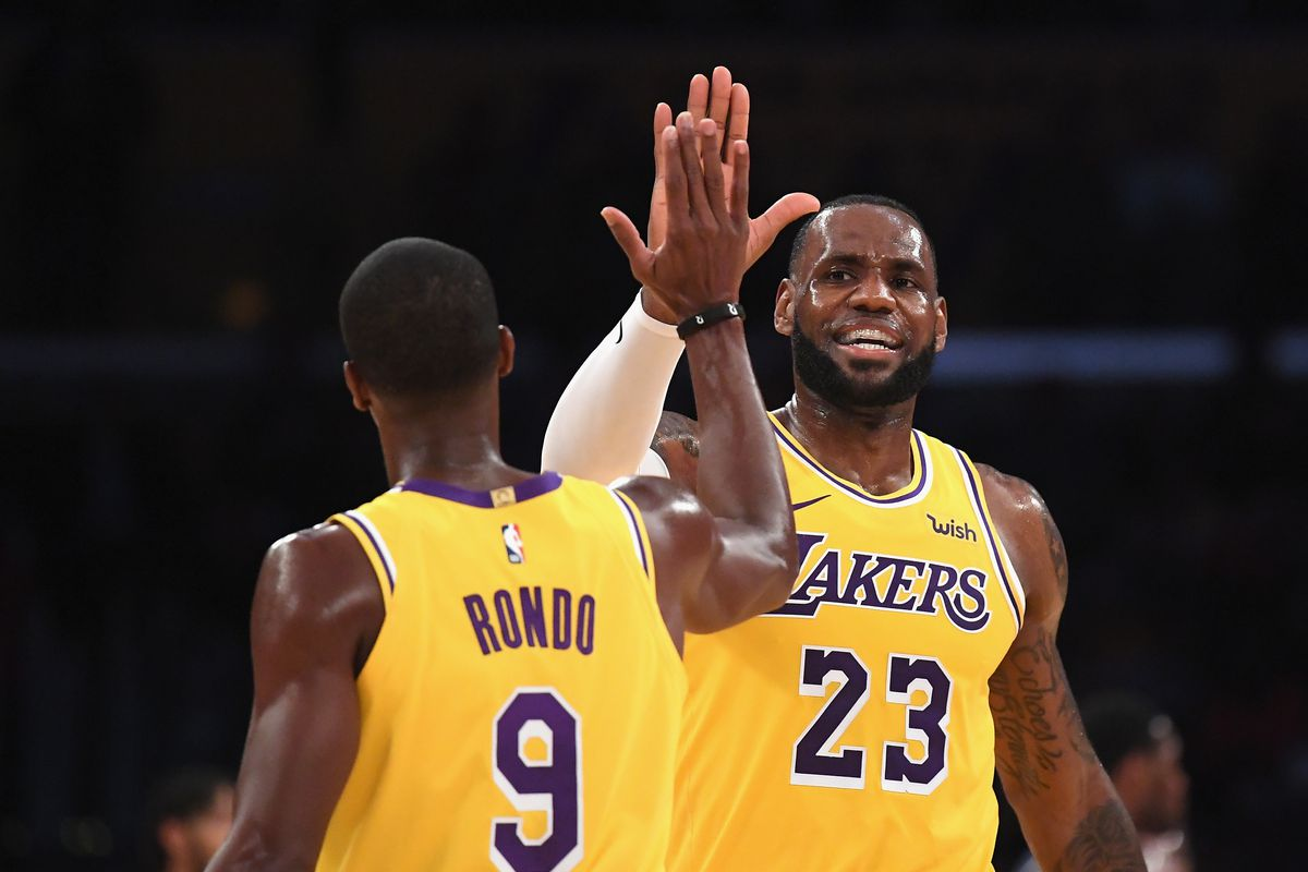 53e9afbd848a Podcast  What LeBron James might have to do with Lonzo Ball not starting on  opening night