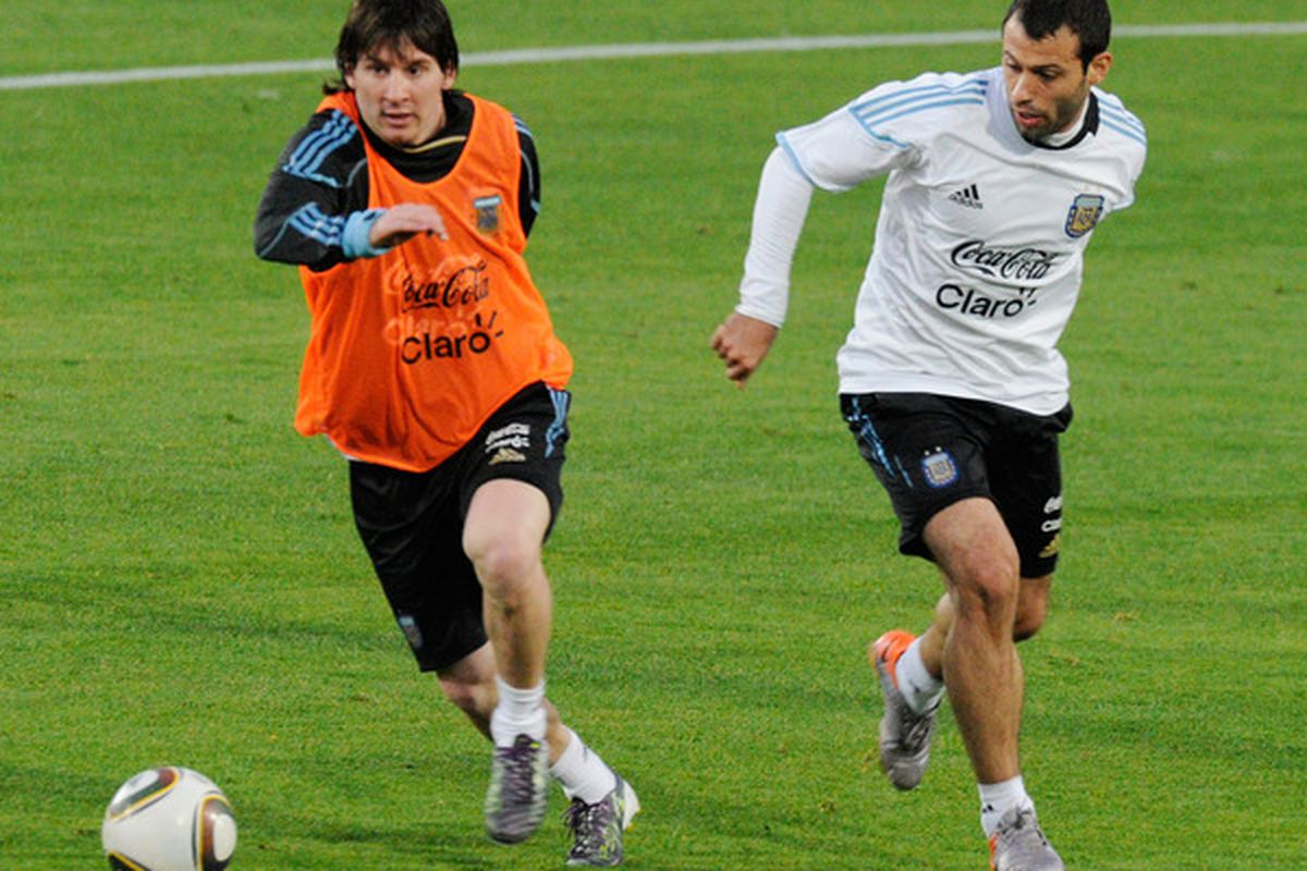 Messi and Mascherano will be in India for a few days with the Argentinian national team.