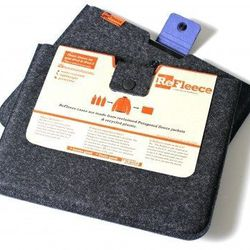 """Another Somerville company <b>ReFleece</b> uses recycled fleece from Patagonia's Common Threads Program to make tech cases, <a href=""""http://www.thegrommet.com/refleece-tablet-sleeve-large"""">$25-32</a>"""