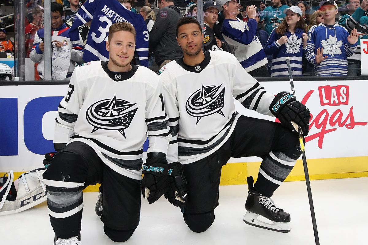 competitive price 66415 e5018 2019 NHL All Star Game Recap: Jones, Atkinson Lead Metro to ...