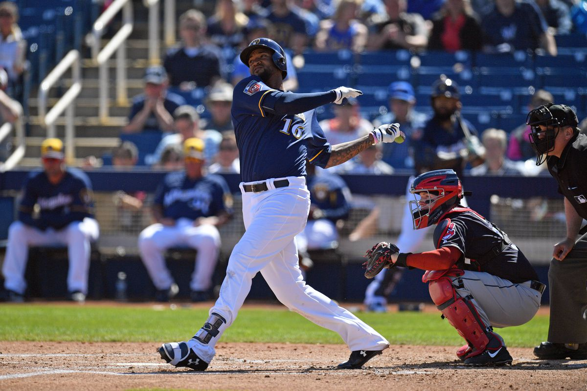 MLB: Spring Training-Cleveland Indians at Milwaukee Brewers