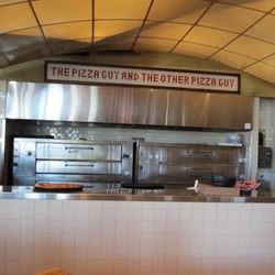 The oven at Metro Pizza.