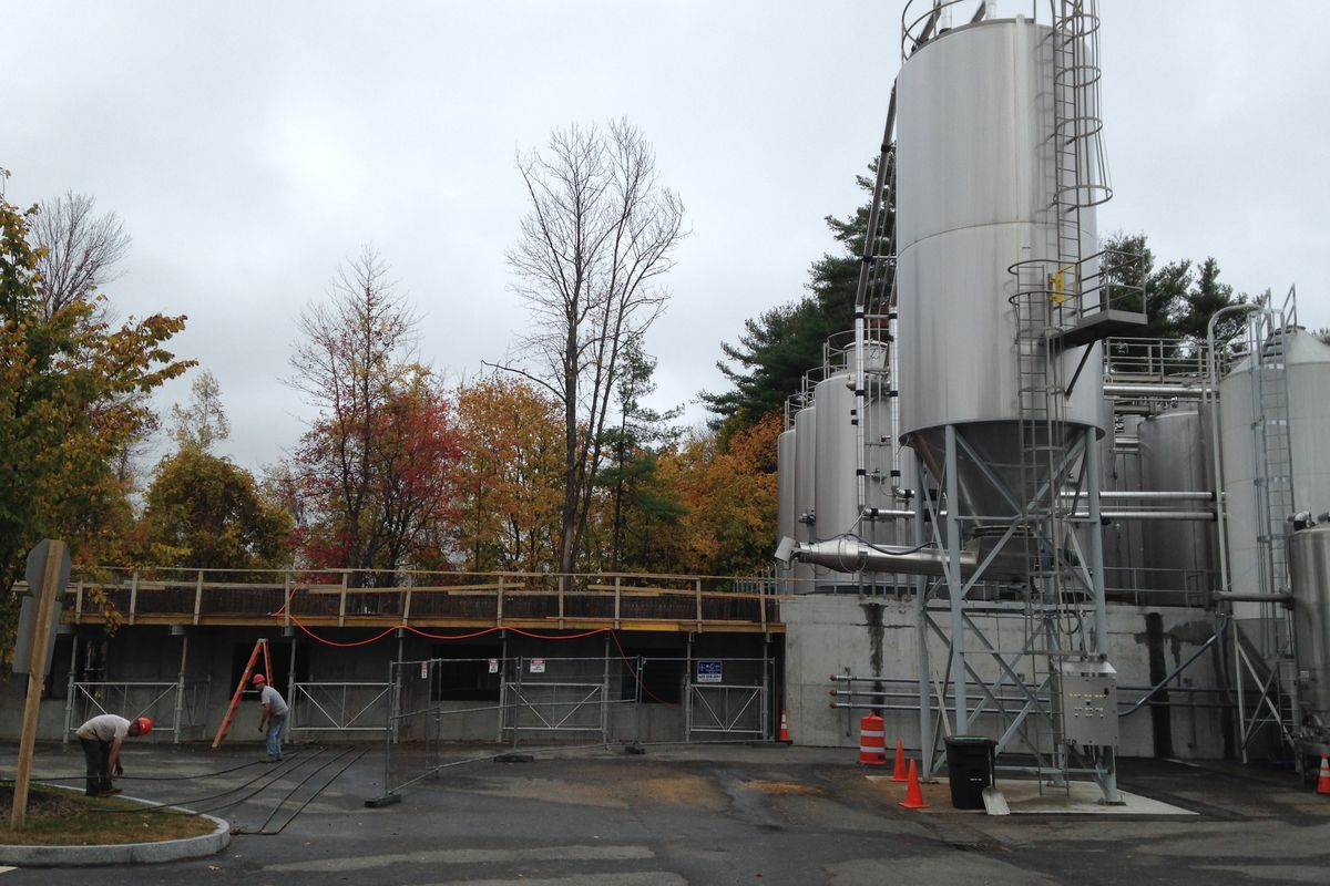 """""""Expansion"""" and """"beer,"""" two contributor terms that fit Allagash Brewing Company perfectly in 2014."""