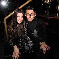 Alexis Morden and Danny Chung of DVF