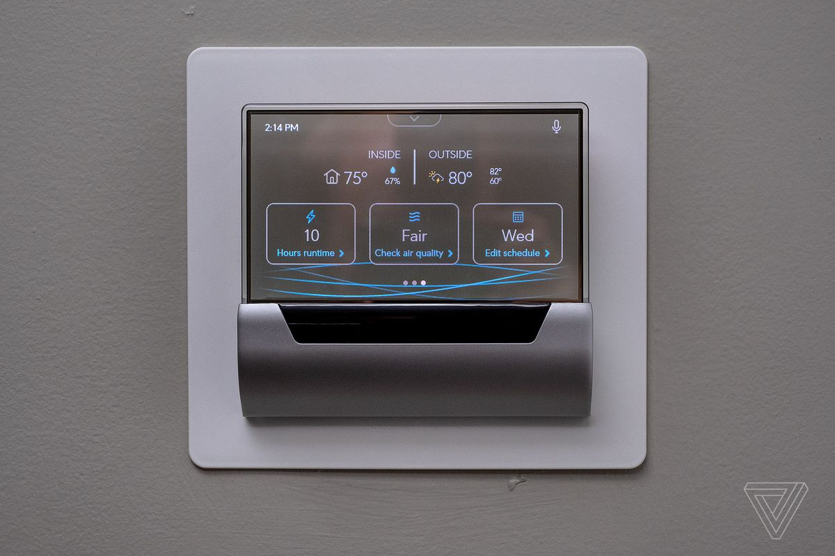 All In Glas.Cortana Is Being Removed From The Glas Thermostat The Verge