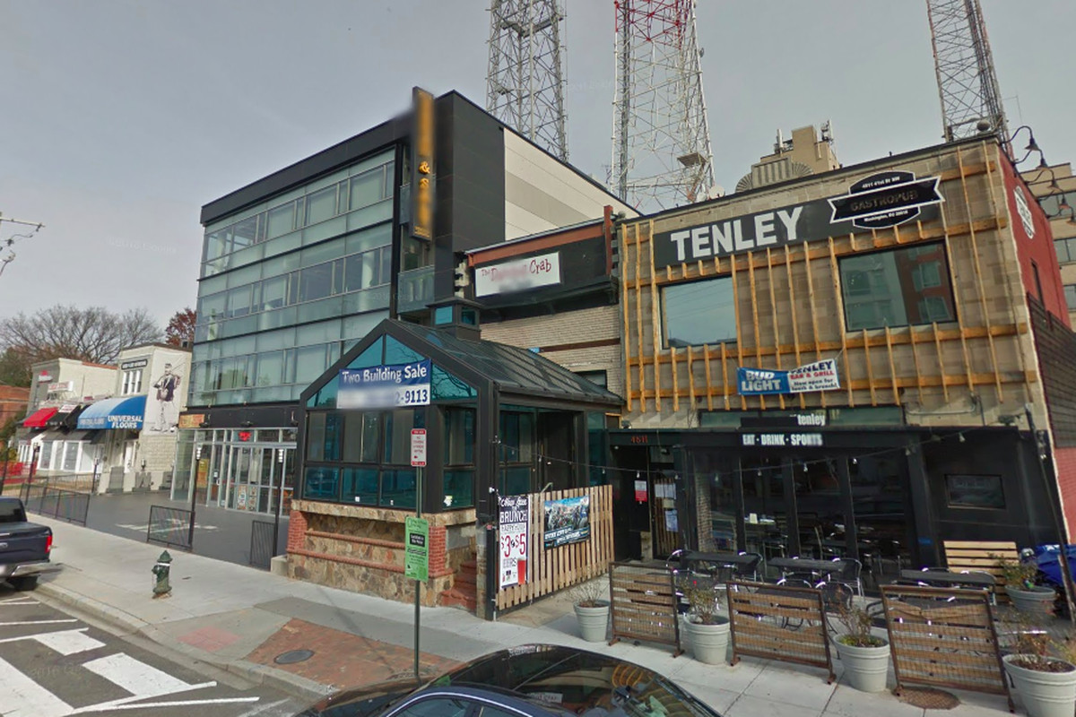 In Tenleytown New Plans For A Seven Story Mixed Use
