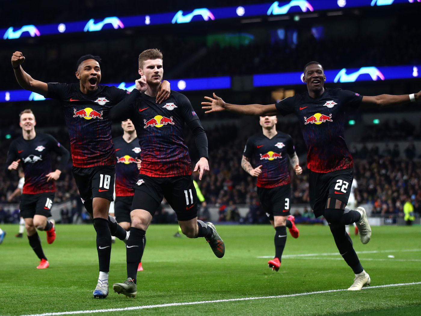 Tottenham 0 1 Rb Leipzig Timo Werner Penalty Gives Visitors Lead For Return Leg In Germany Cartilage Free Captain