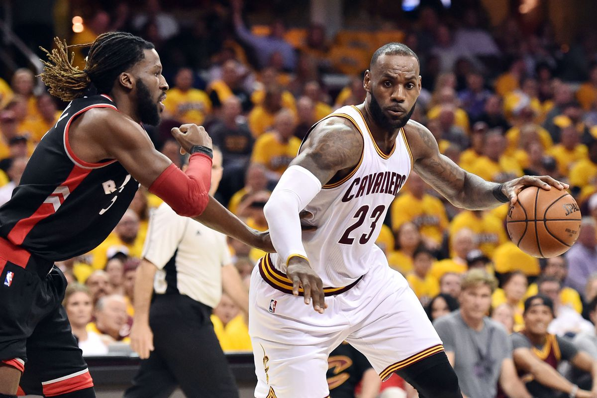 Nba playoffs 2017 lebron james is too much for the raptors to ken blaze usa today sports nvjuhfo Gallery