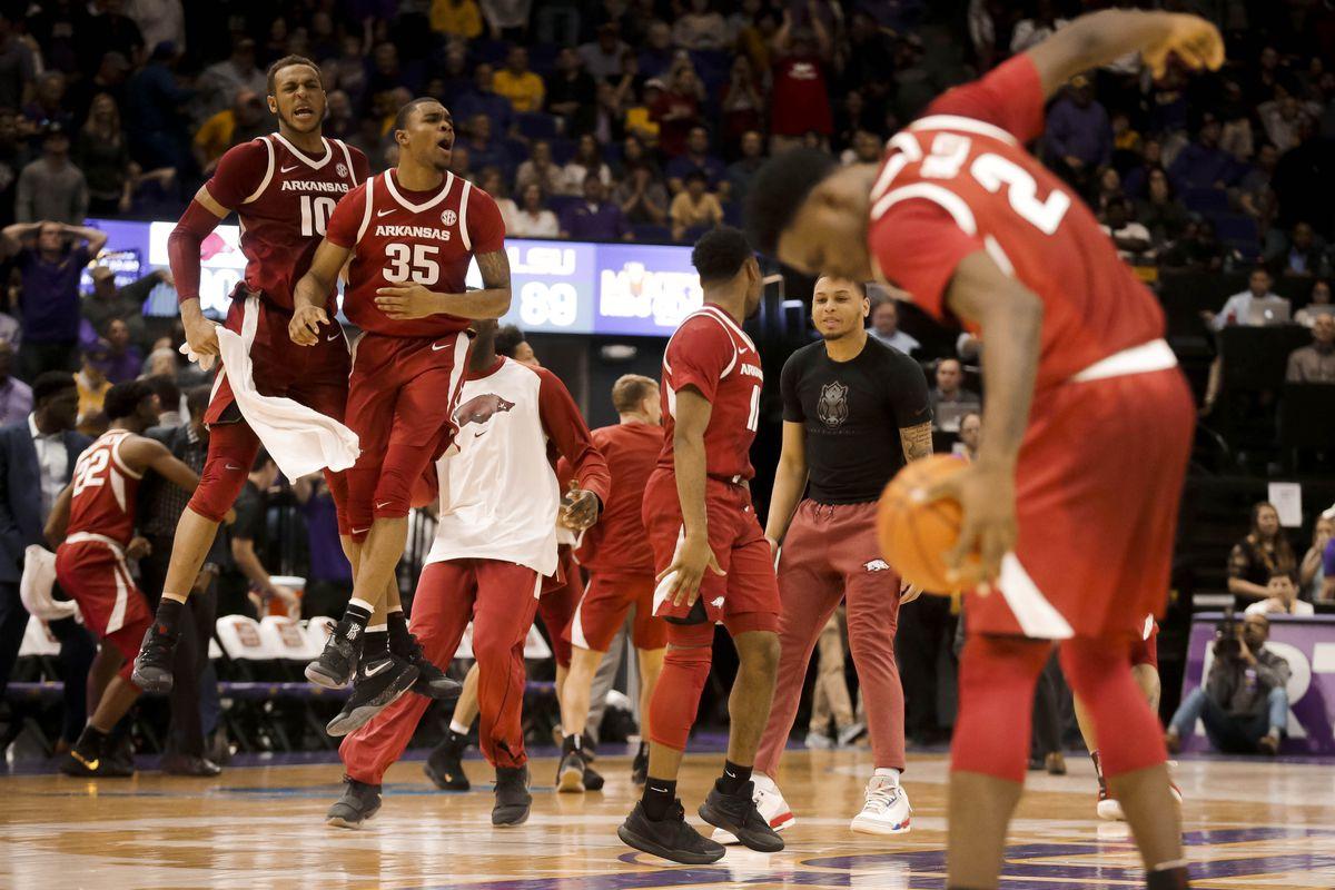 NCAA Basketball: Arkansas at Louisiana State