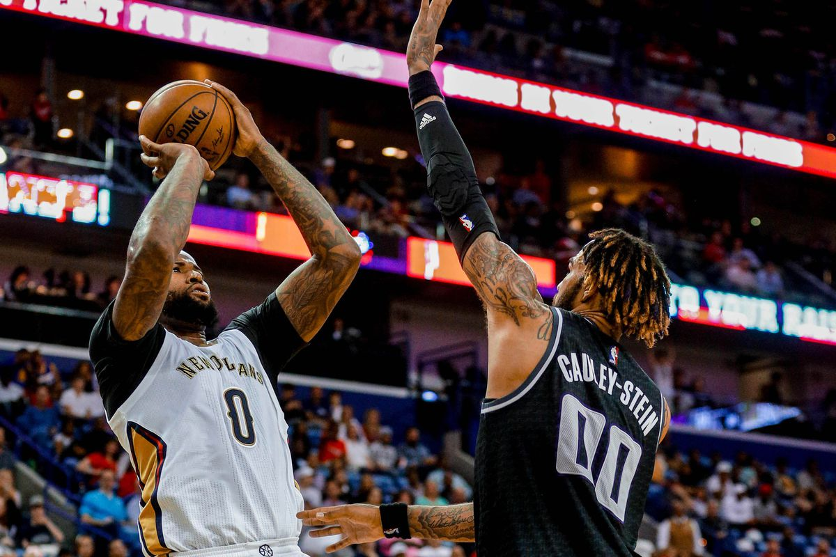 Image result for demarcus cousins pelicans vs kings