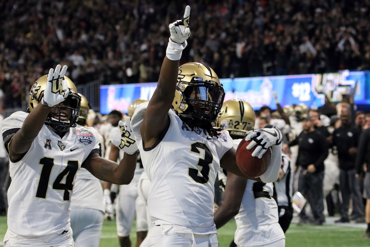 Governor Rick Scott declares UCF the national champions... in Florida