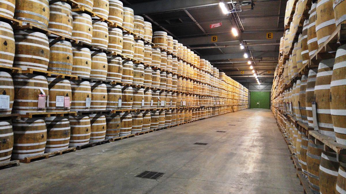 Courvoisier barrels