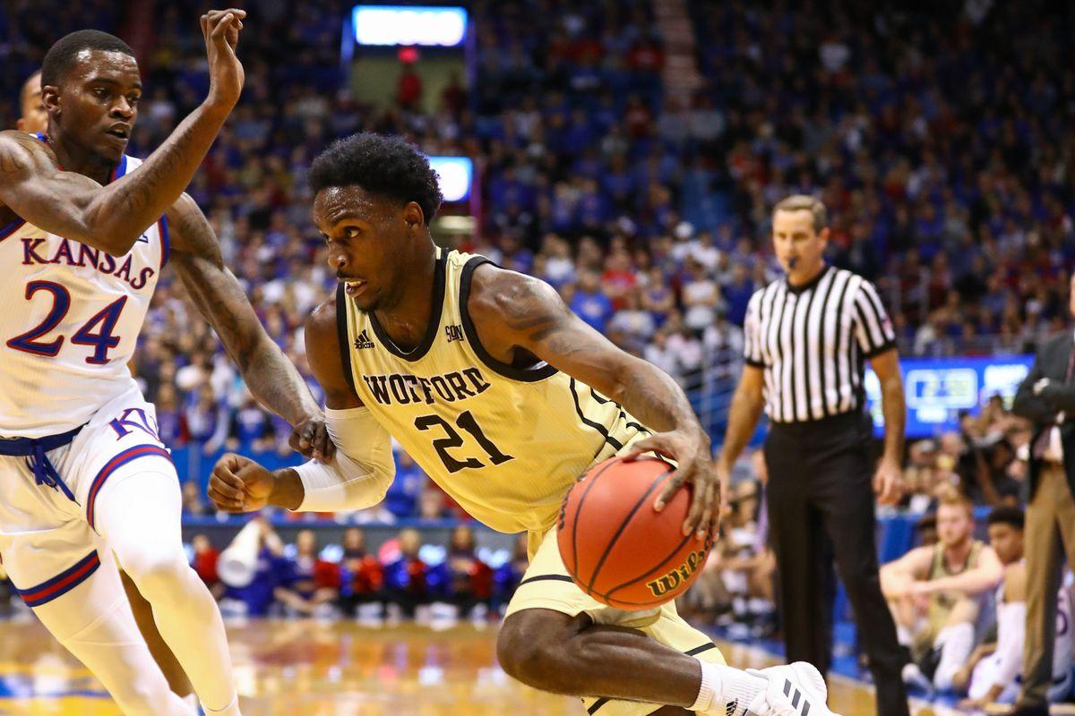 NCAA Basketball: Wofford at Kansas