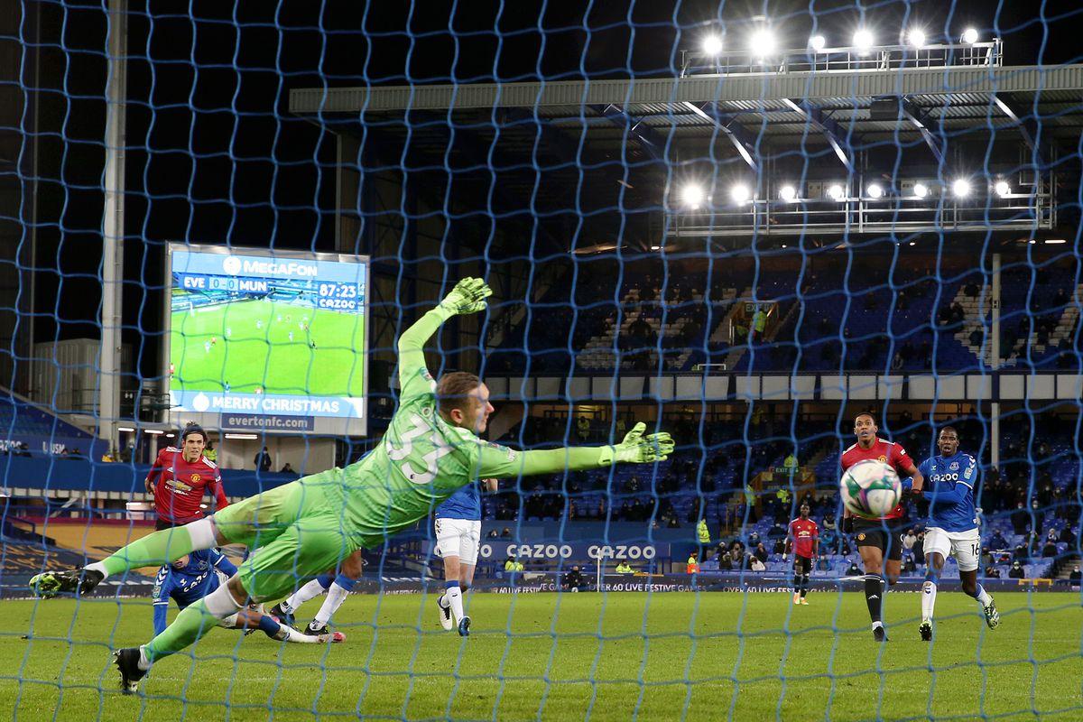 Everton v Manchester United - Carabao Cup Quarter Final