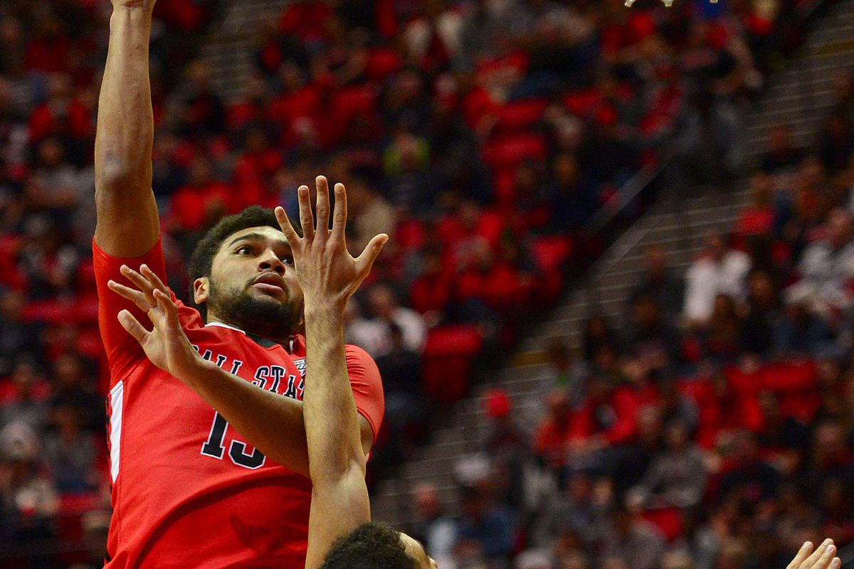 NCAA Basketball: Ball State at San Diego State