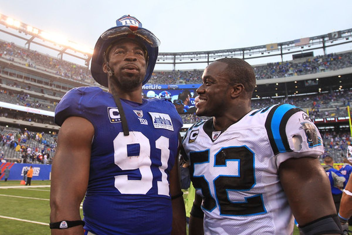 Justin Tuck and Jon Beason could both be a part of the offseason plan for New York