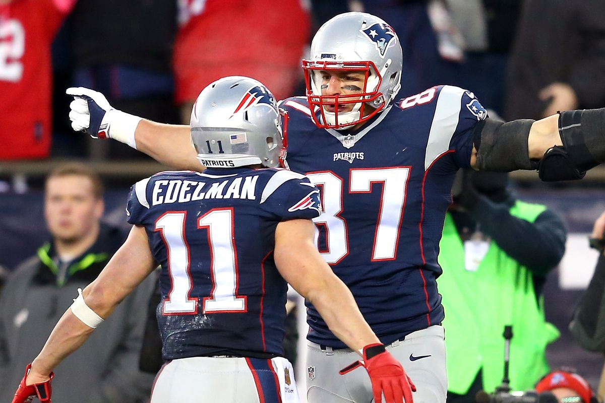 6c44cae02 Despite roster turnover, Patriots have one of the best receiving groups in  the NFL. New ...