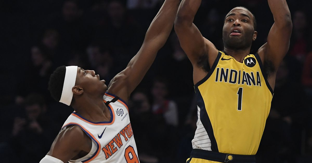 Pacers 106, Knicks 98: Scenes from some interesting late-game lineups