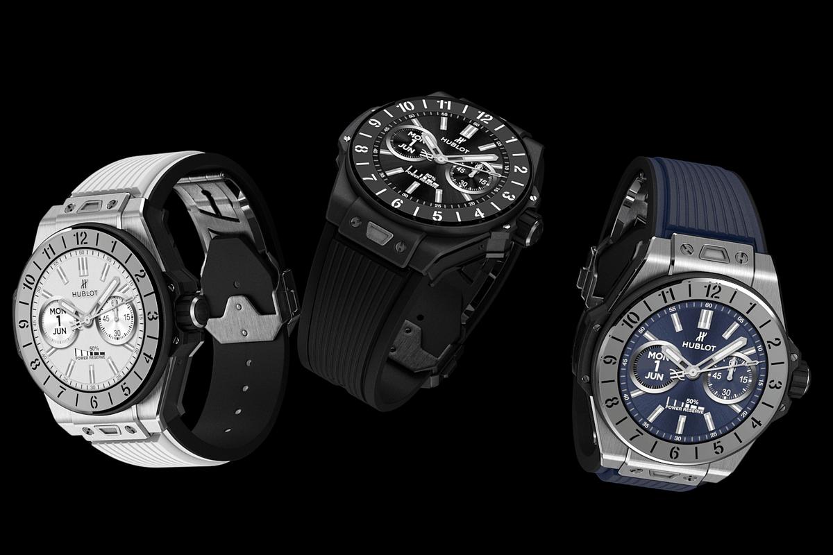 Hublot made a $5,800 Wear OS smartwatch