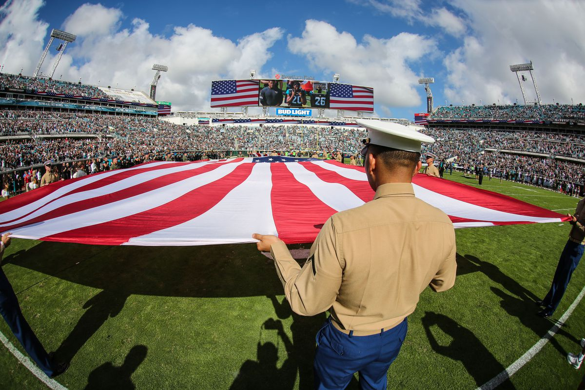 Department Of Defense Makes Sure Troops Can Watch Football Despite Shutdown