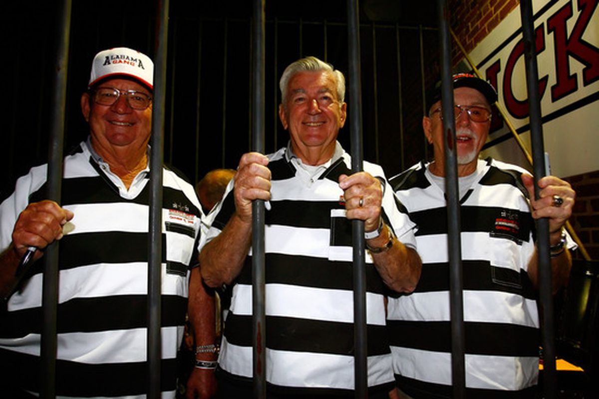 """These guys were in a """"jail cell"""" to raise money for charity. Charles Eric Waugh won't be so lucky."""