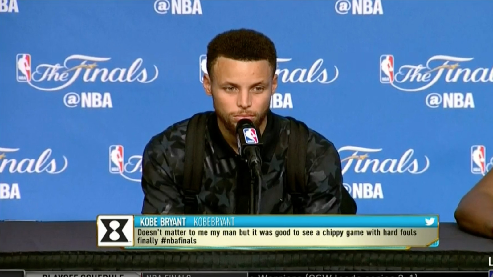 Steph Curry and Kevin Durant couldn't believe a reporter ...