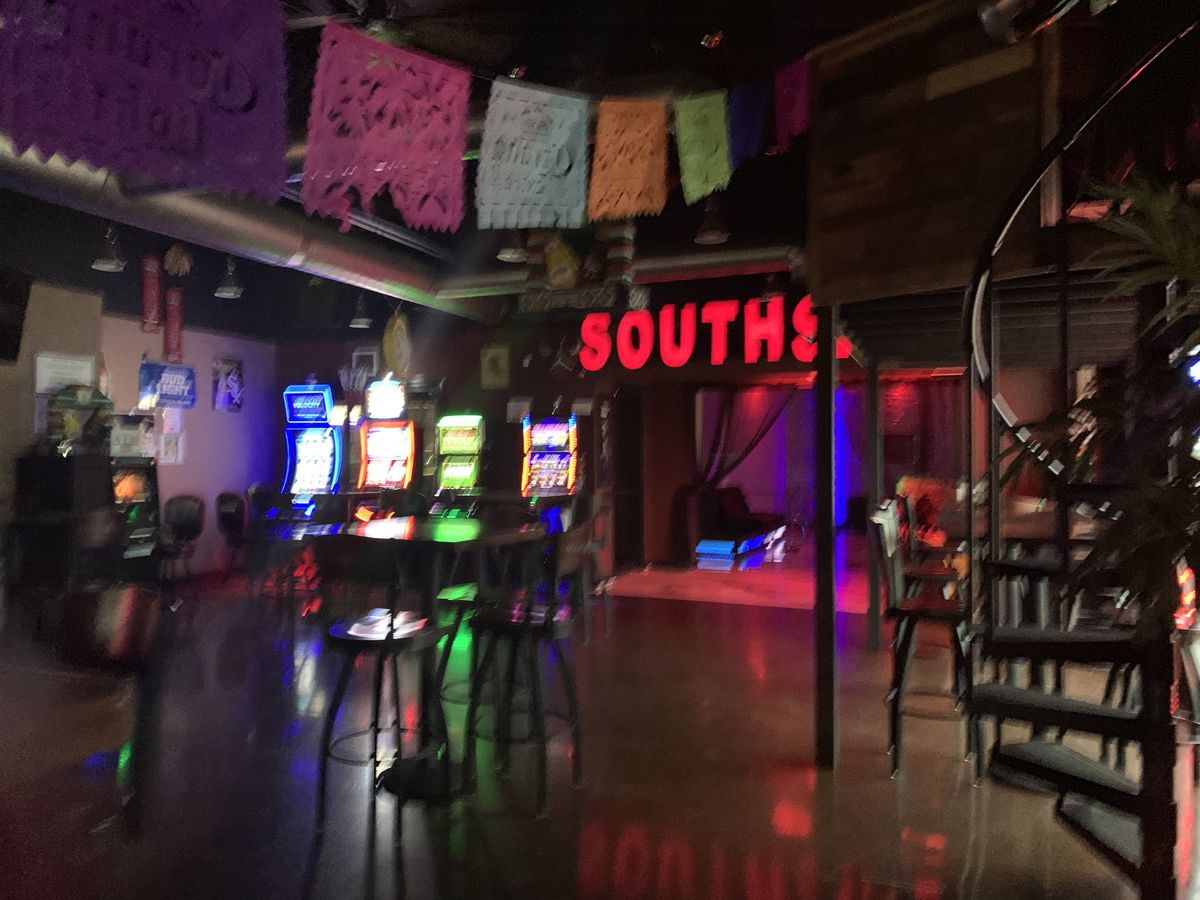 Inside Mars Bar in Summit, whose mayor was questioned about the establishment on Sept. 26.