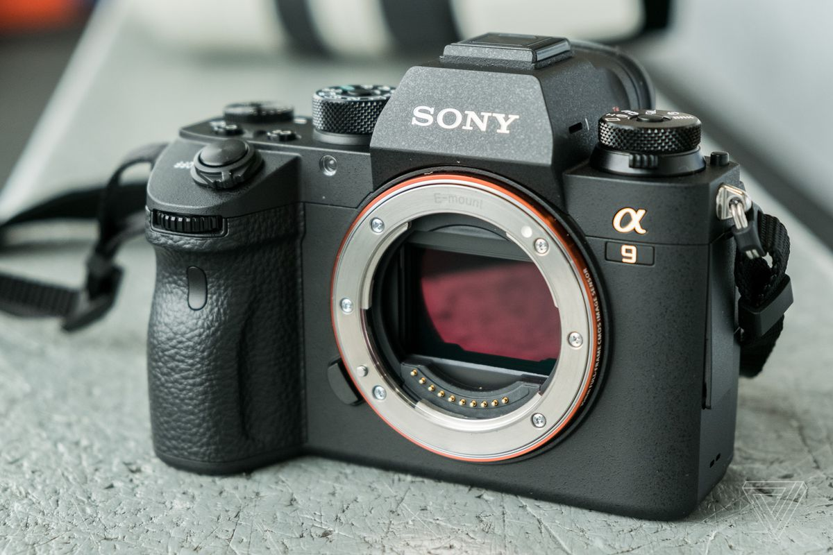 Sony\'s new A9 is so fast it will make you giddy - The Verge