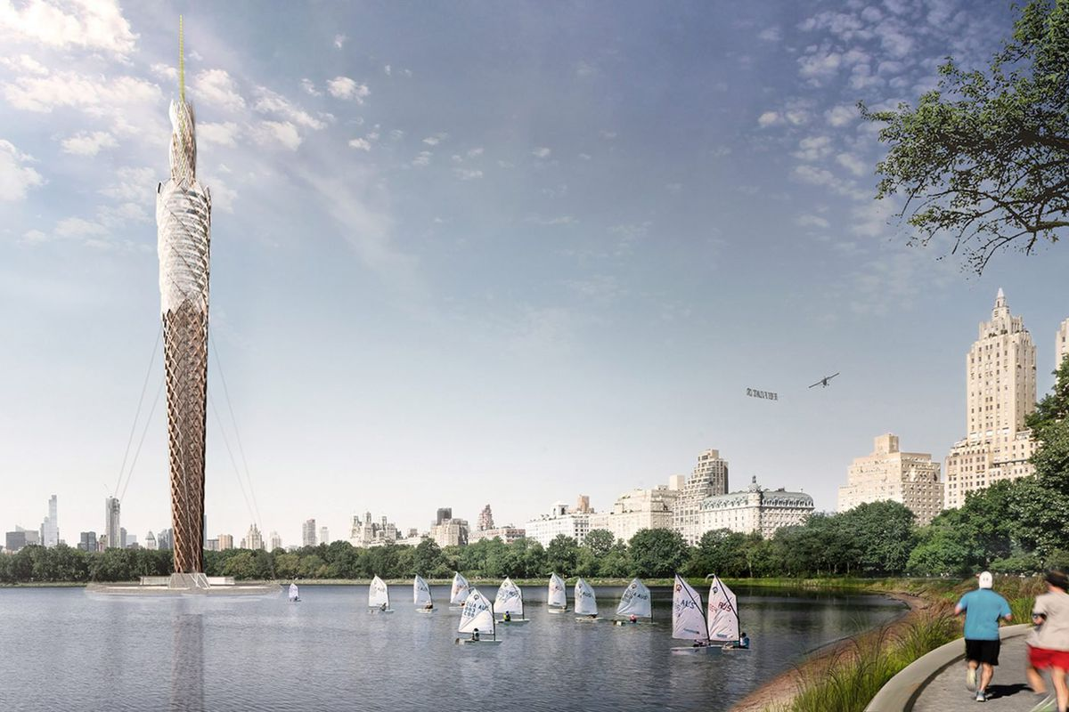 Architect Proposes 700 Foot Timber Tower For The Central
