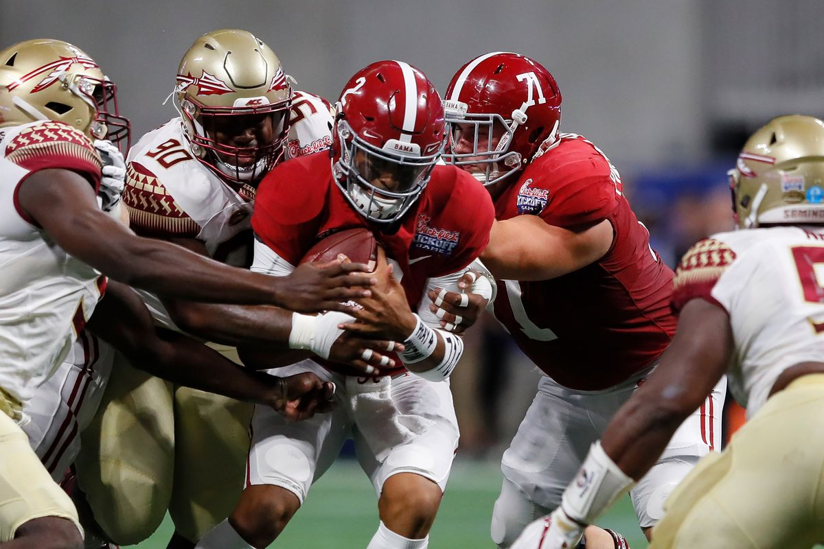 Alabama vs florida state live blog scores highlights and photo by kevin c coxgetty images voltagebd Image collections