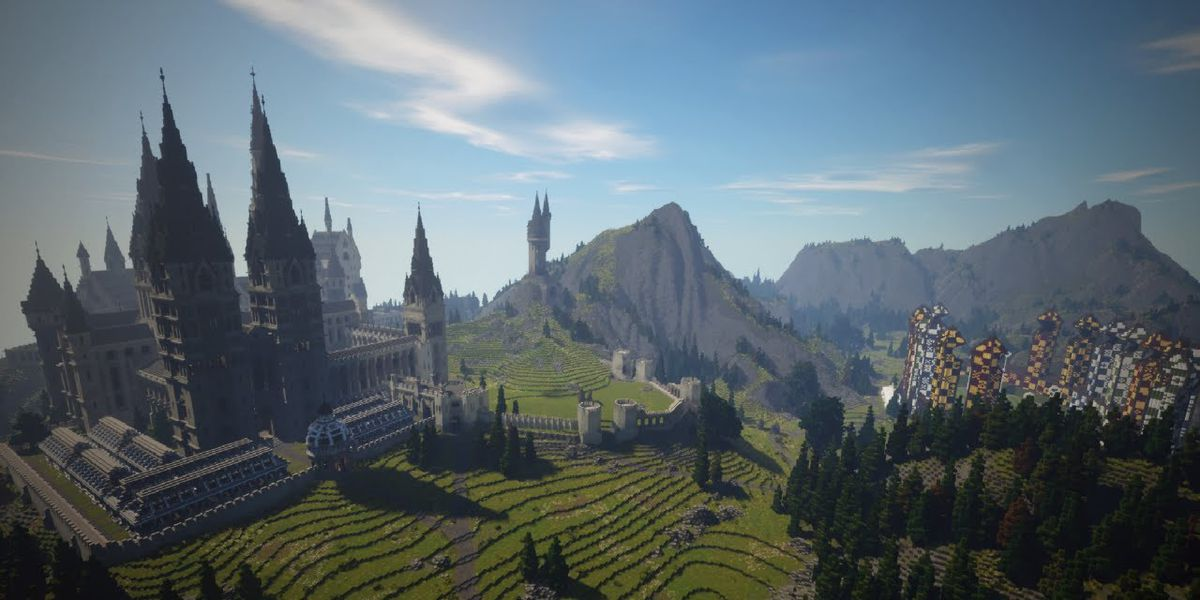 Minecraft gets a magical makeover with this wild Harry Potter mod