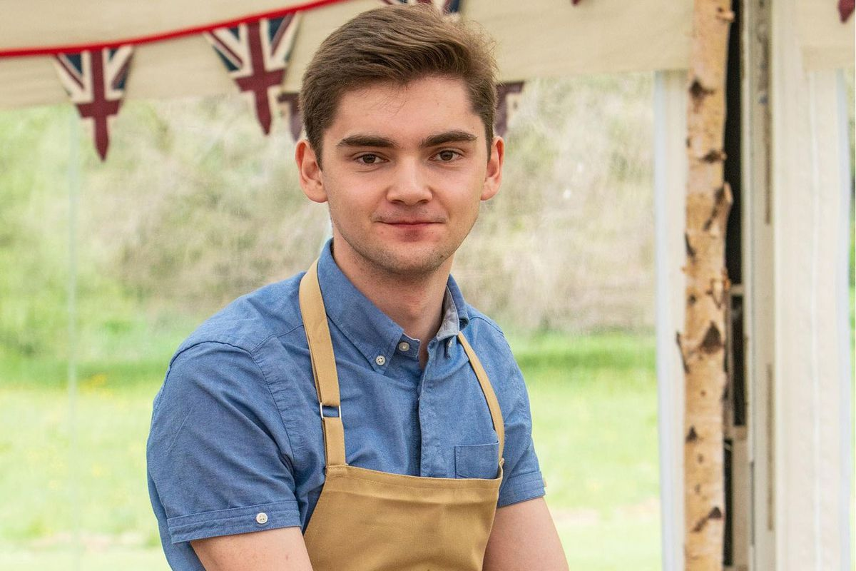 Henry, a contestant on Great British Bake Off 2019