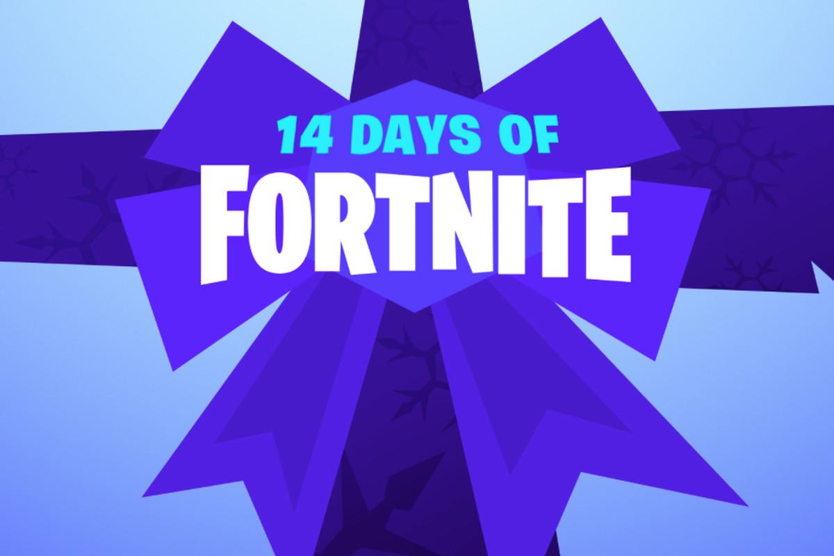 14天的Fortnite回来了7天