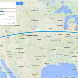 Google Maps Integrates Google Earth And Street View In Completely - Google map of the united states