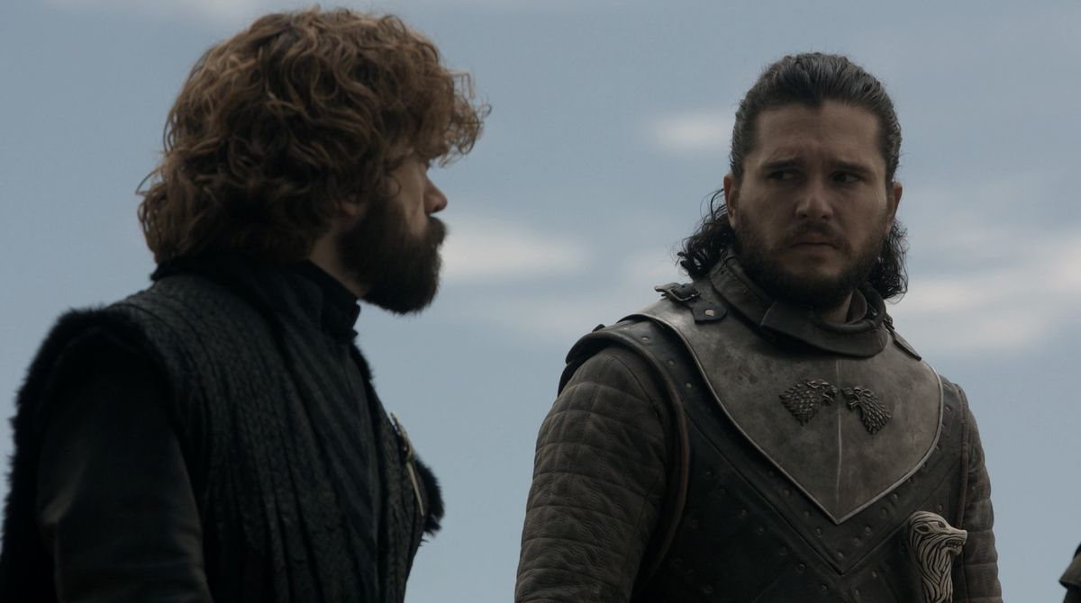 Game of Thrones S08E05 Jon and Tyrion