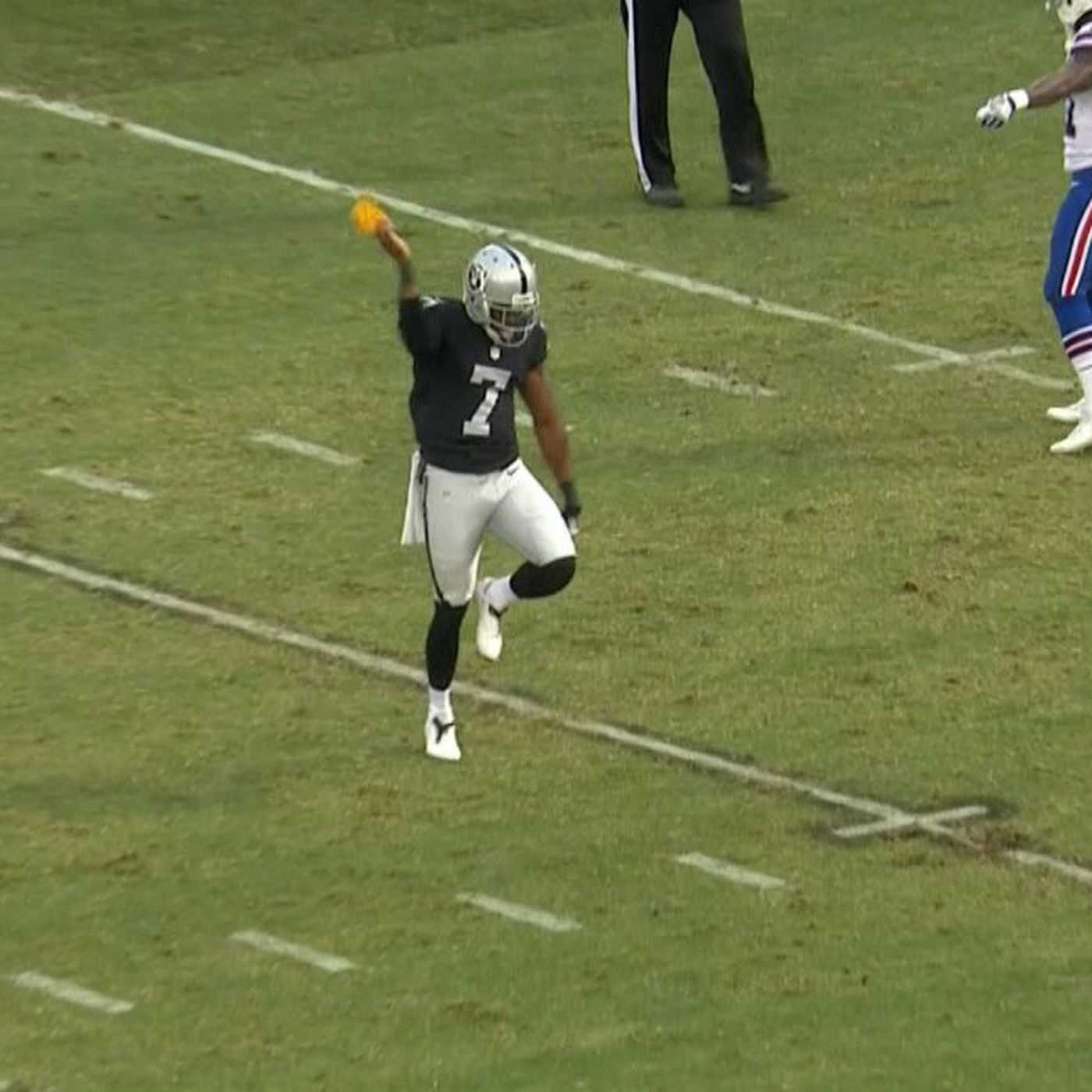 Marquette King called out the 'snitch' from the Bills who got him