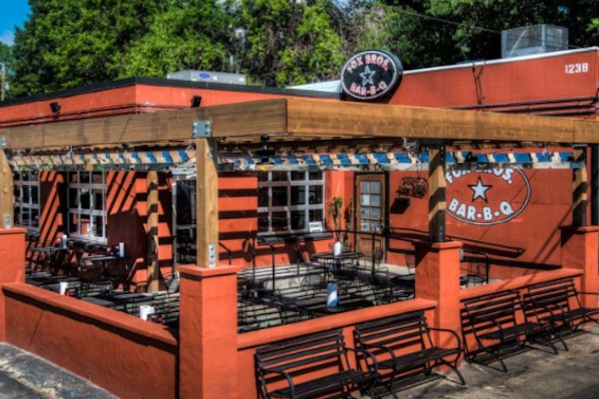The original Fox Bros. Bar-B-Q in Candler Park.