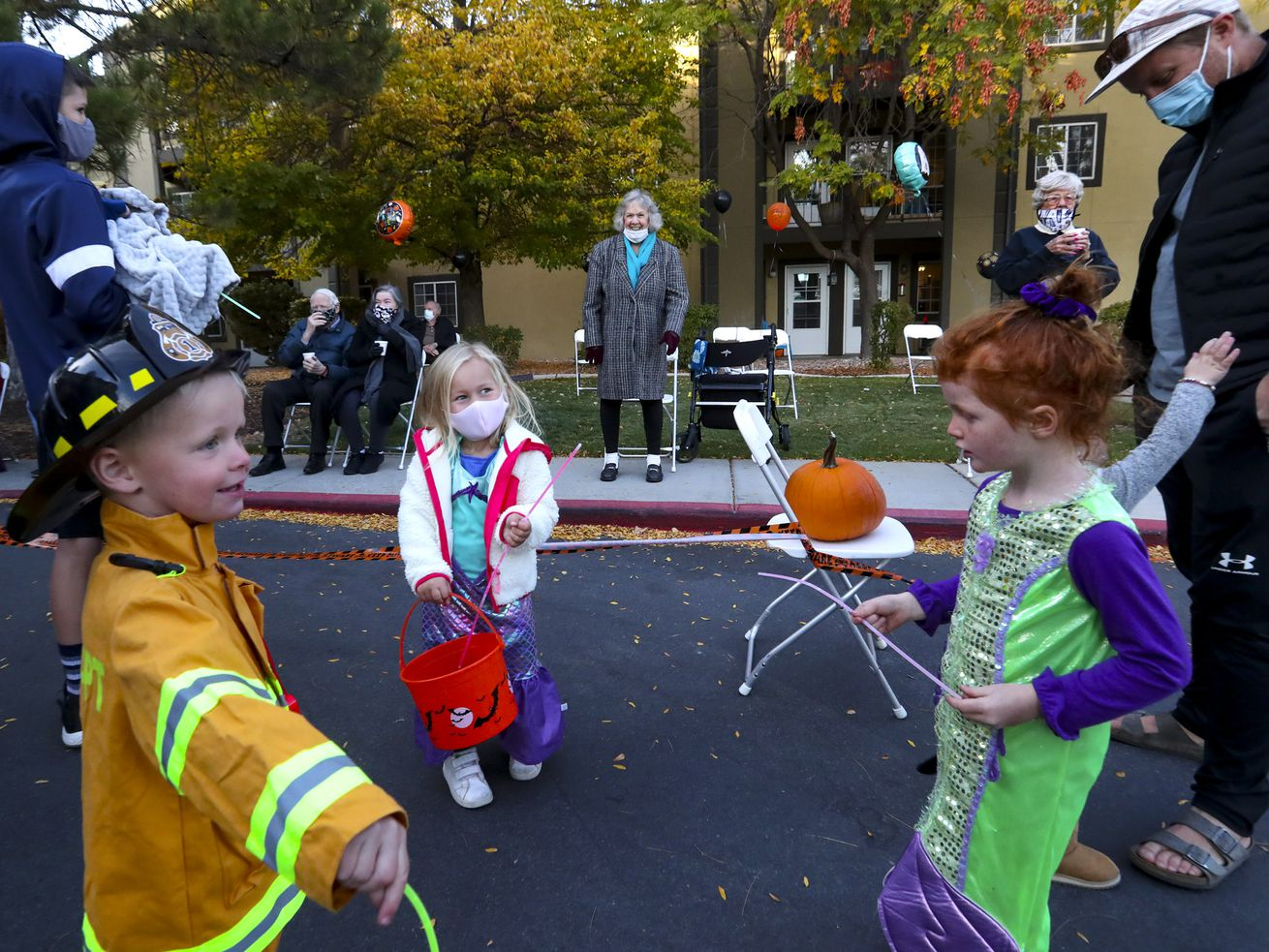 No tricks, all treats: Halloween parade brings costumed visitors to seniors