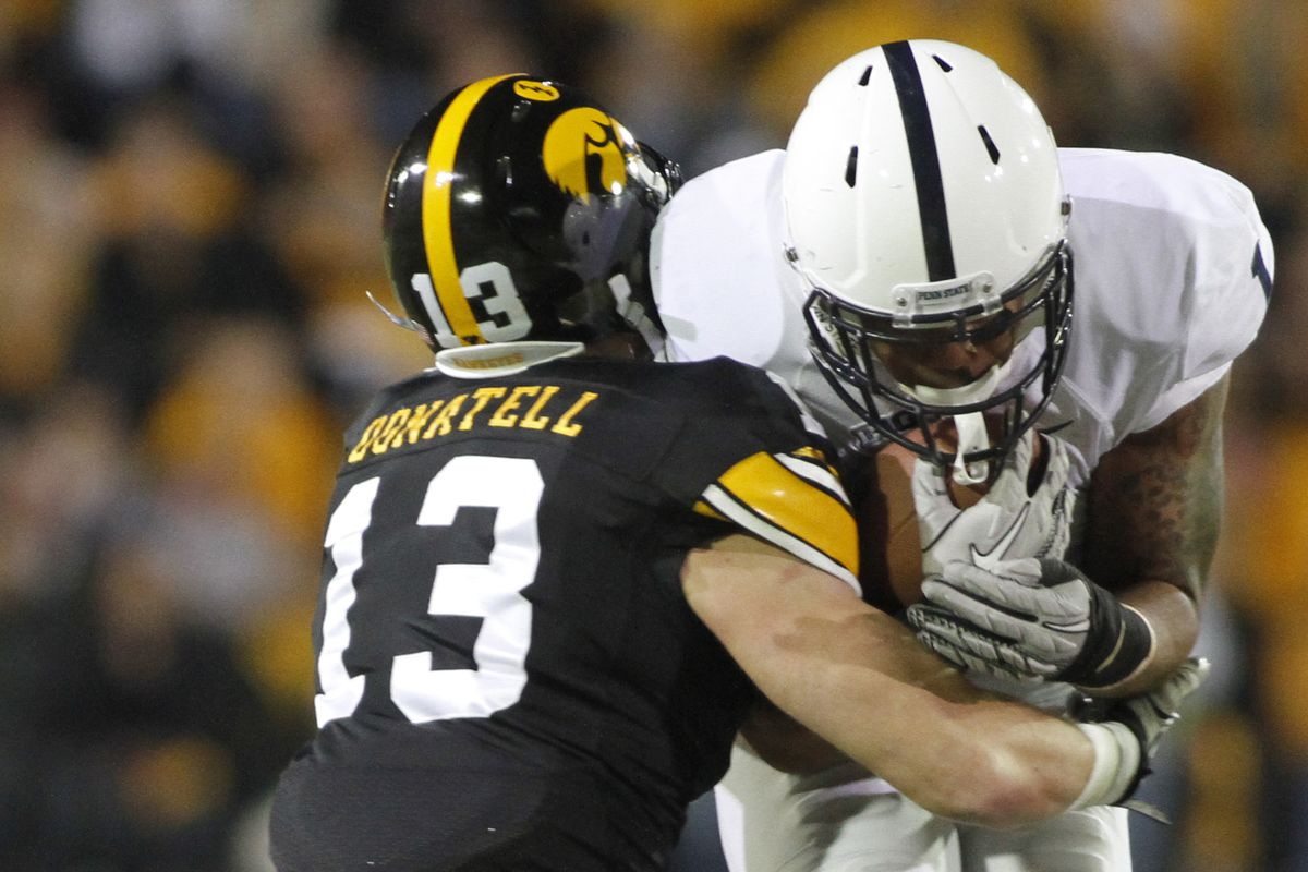 We'd all like to forget the last time Iowa played a night game at Kinnick Stadium.